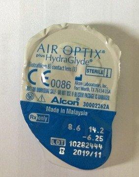 Soczewki Air Optix Plus HydraGlyde 1szt.