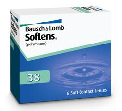 Soczewki SofLens 38 6szt.